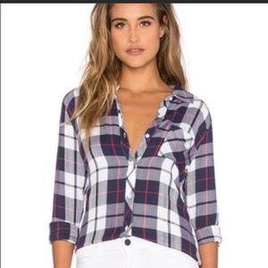 Rails Hunter Plaid Shirt Patriot Cranberry